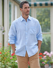 Load image into Gallery viewer, MEN'S THORNHAM LINEN STRIPE SHIRT