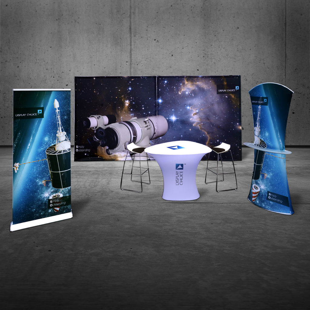 Personalized Booth Design