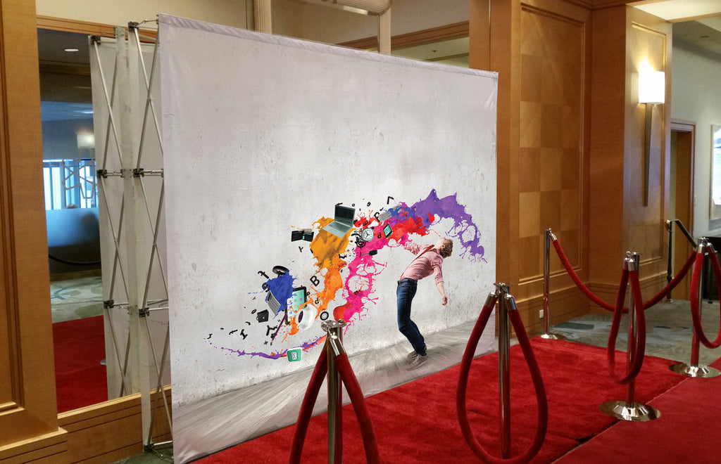 Brief introduction about trade show backdrop