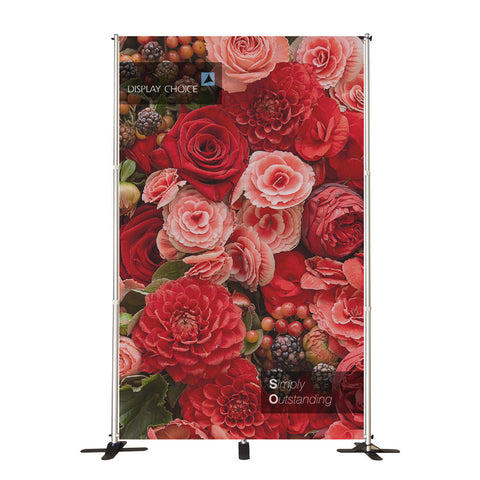 10' Booti™ Adjustable size Backdrop with W6'×H10' Customized Printing