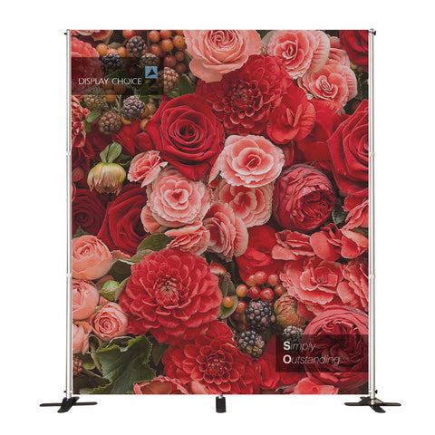 10' Booti™ Adjustable size Backdrop with W8'×H10' Customized Printing