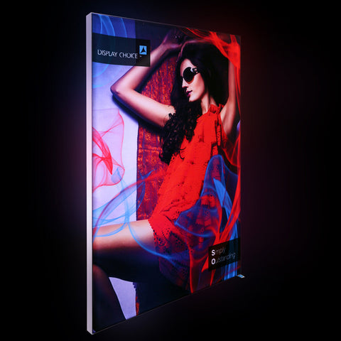 "30""×40""  Mars™ Backlit 1.2"" Slim LED Light Box Customized Printing"