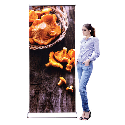 "33.5""×78"" Sagitar™ Retractable Banner Stand with Customized Printing"