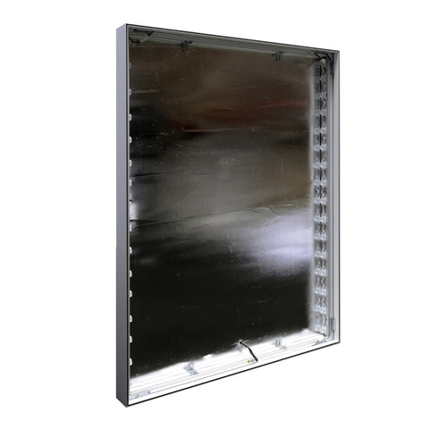 "36""×48"" Mars™ Edge-lit  3"" Slim LED Light Box, Frame Only"