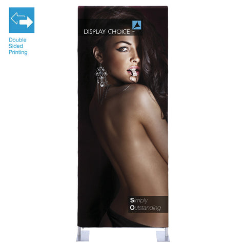 3' Booti™ Vertical Trade Show Display with Double Sided Customized Printing