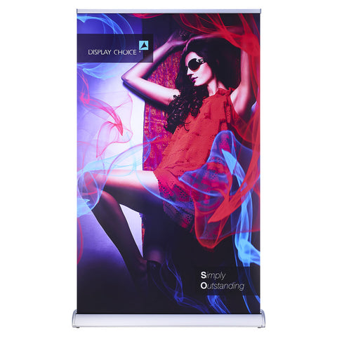 "46.5""×78"" Sagitar™ Retractable Banner Stand with Customized Printing"