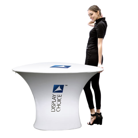 Ceti™ Convention Table with Customized Cover Printing