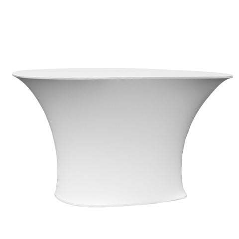 Ceti™ Reception Table with White Cover
