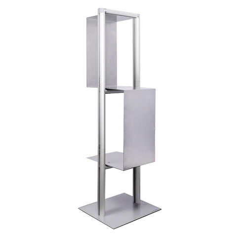 LIBRAE™ 2-Shelf Literature Stand
