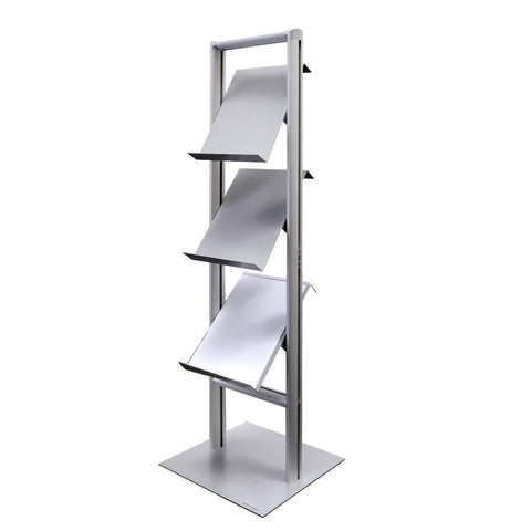 LIBRAE™ 3-Shelf Literature Stand