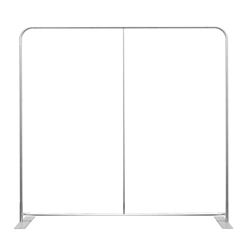 8' Booti™ Straight Trade Show Display, Frame Only