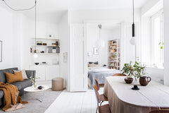 Minimalism - the bare essentials for a small space