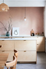 Plywood kitchen and bathroom inspiration
