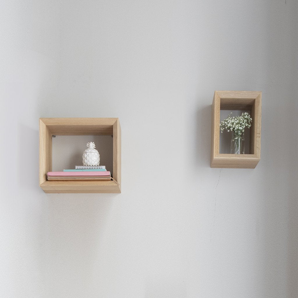 Box, modern, wall, scandinavian design
