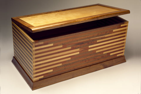 Blanket chest by Seth Rolland