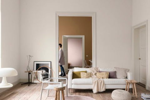 Dulux brown wall