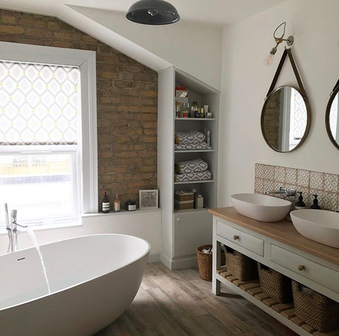 Instagram interiors inspiration - E17 renovations bathroom