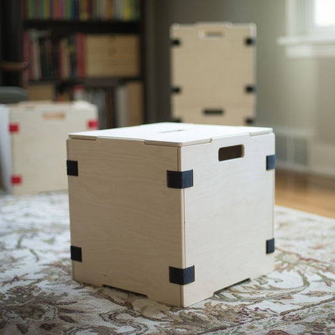 Sprout stackable boxes