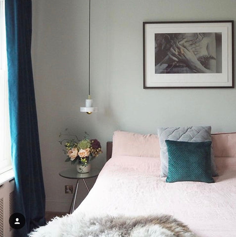 gold is a neutral bedroom