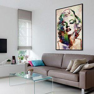 Large wall art trend 2018