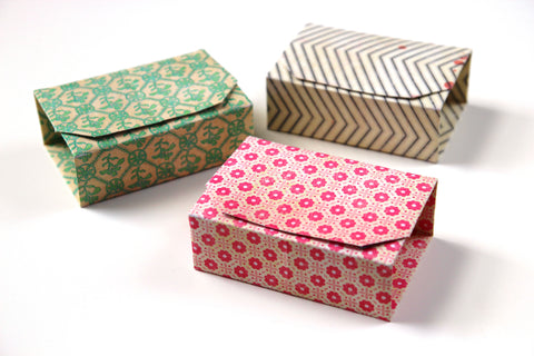 rectangular origami boxes