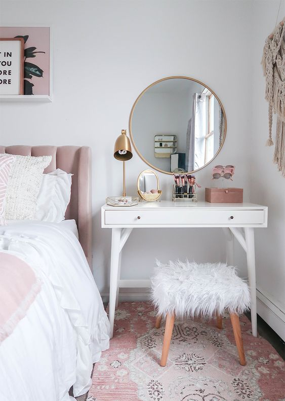 How To Squeeze A Dressing Table Into Your Small Bedroom Urbansize