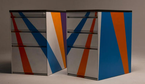 upcycled filing cabinets