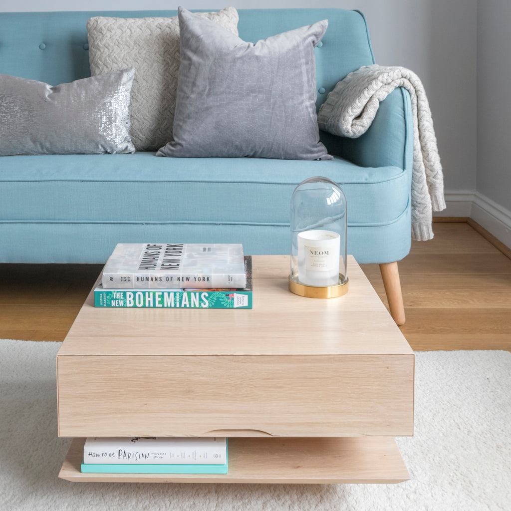 Oak Coffee Table for Small Spaces