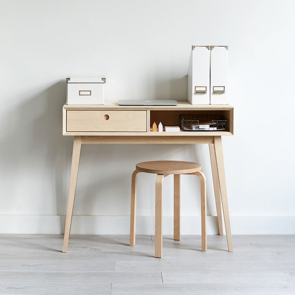 Plywood Desk