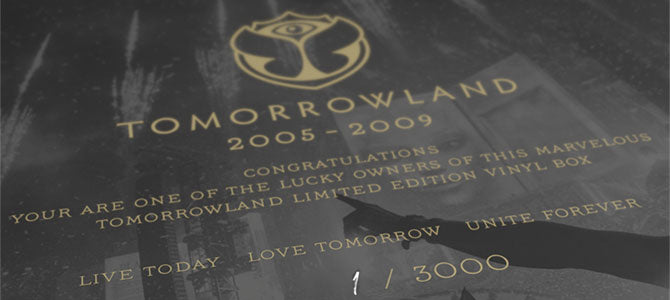 TML by Tomorrowland LP 2005-2009 Anthems - Deluxe Edition Box