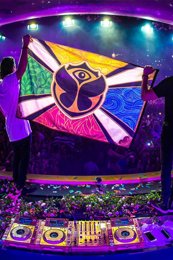 Official Tomorrowland Flag Tml Webstore