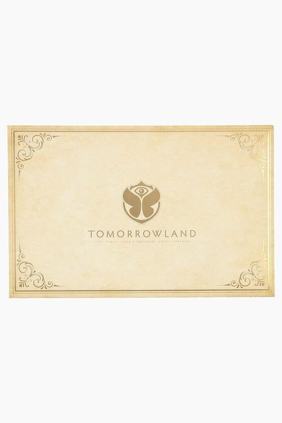 Tomorrowland Postcards & Stamps Set