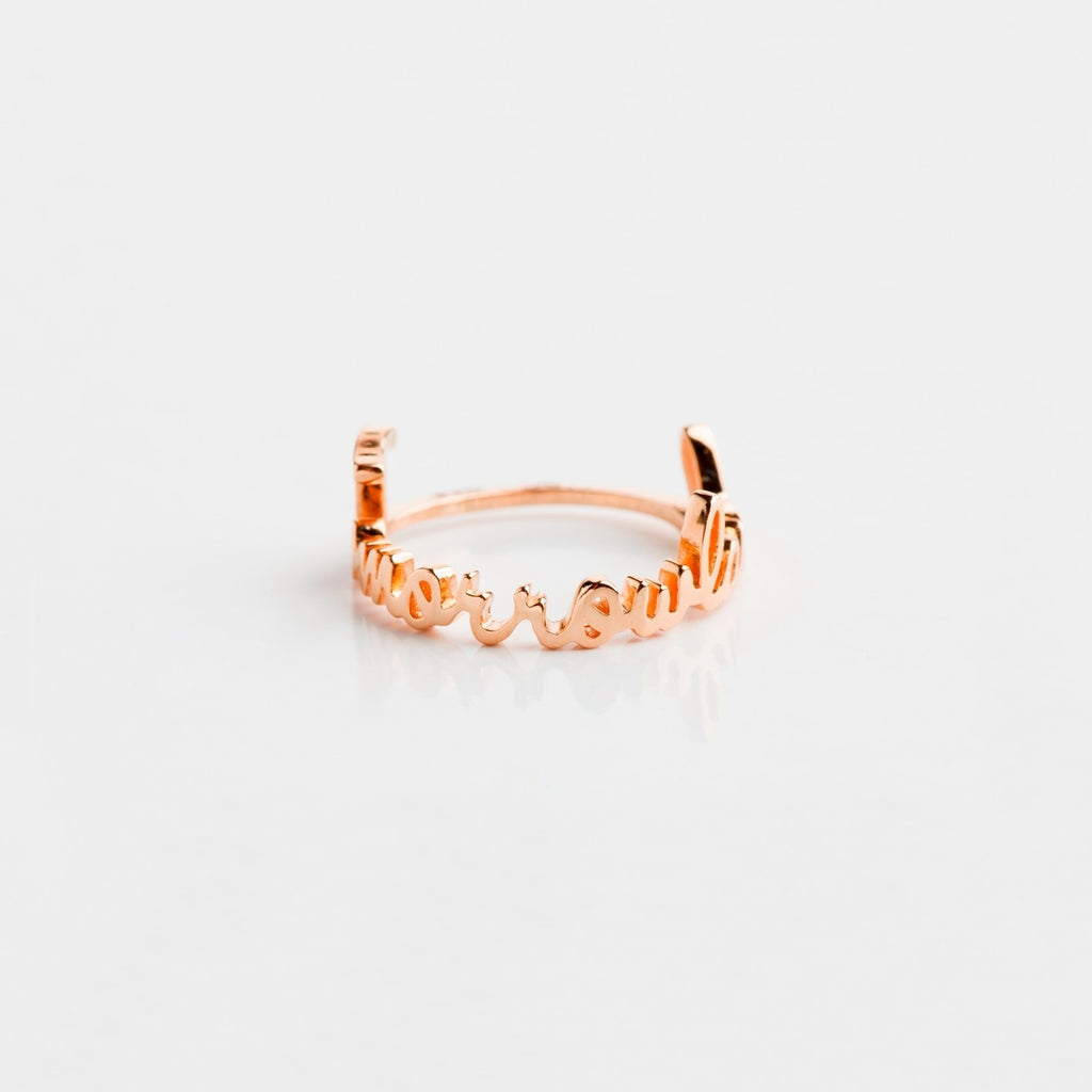 Tomorrowland Ring Rosé