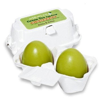 HOLIKA HOLIKA EGG PORE SOAP - GREEN TEA