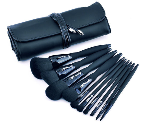CLEARANCE - IHEARTBEAUTY DIAMANTE BRUSH SET LIMITED EDITION