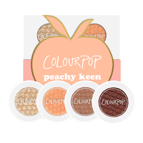 COLOURPOP EYESAHDOW QUAD - PEACHY KEEN
