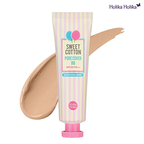 HOLIKA HOLIKA SWEET COTTON PORE COVERAGE BB CREAM