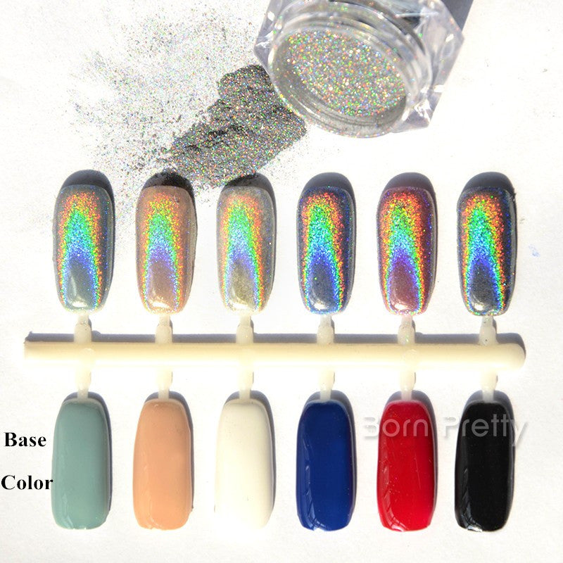 NAIL MAD HOLOGRAPHIC CHOME NAIL POWDER