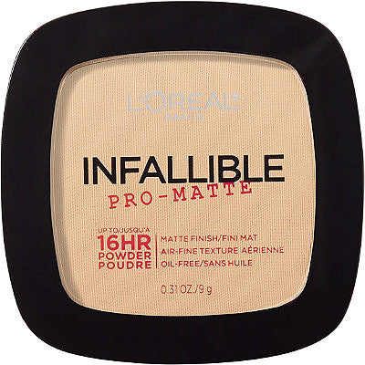 L'OREAL INFALLIBLE PRO MATTE 16 HOUR POWDER