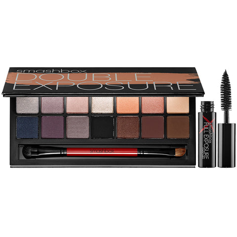SMASHBOX DOUBLE EXPOSURE EYESHADOW PALETTE WITH MASCARA
