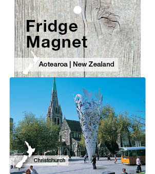 Cathedral Square, Christchurch, NZ - Magnet