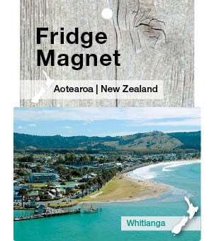 MHW5419 - Whitianga And Buffalo Beach - Magnet
