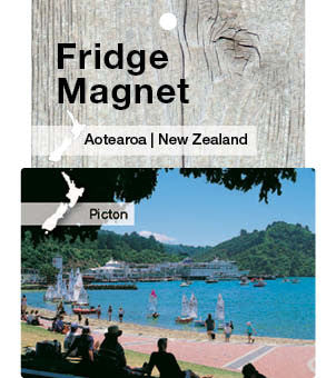 Picton, New Zealand - Fridge Magnet