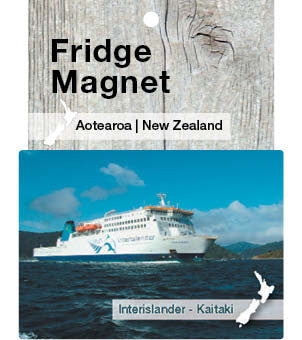 Ferry, New Zealand - Fridge Magnet