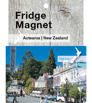 Nelson, New Zealand - Fridge Magnet