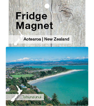 Tahunaunui, New Zealand - Fridge Magnet