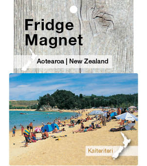 Kaiteriteri Beach, New Zealand - Fridge Magnet
