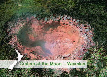 MRT5454 - Craters Of The Moon, Wairakei - Crater - Magnet