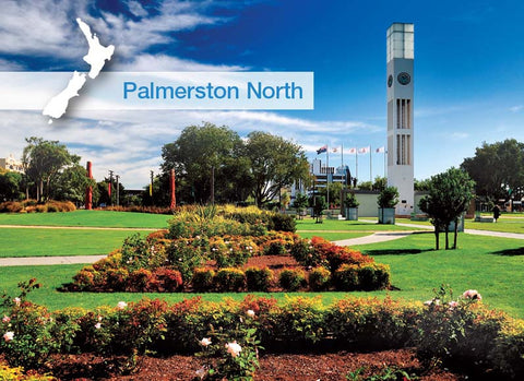 MWP5424 - Palmerston North-Square - Magnet