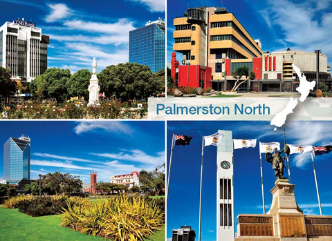 MWP5426 - Palmerston North (4 View Multi) - Magnet